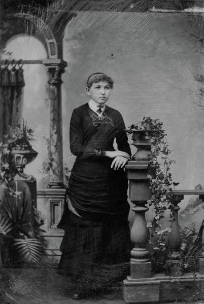 Photograph - Girl, C1890 by Granger