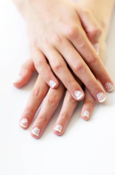 Skin Care Wall Art - Photograph - Girl Hands by Carlos Caetano
