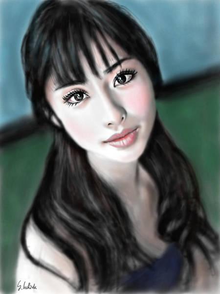 Painting - Girl No.192 by Yoshiyuki Uchida