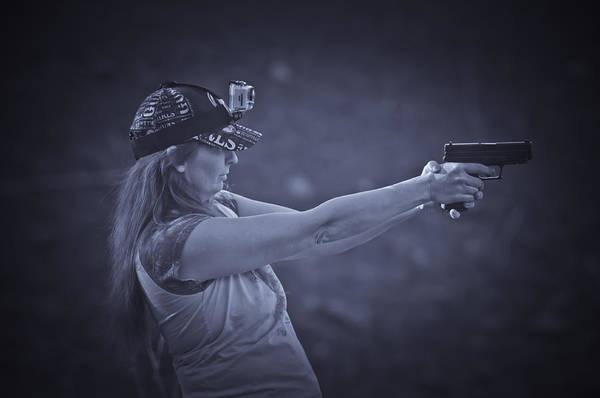 Photograph - Girls Guns And Gopro's by Sherri Meyer
