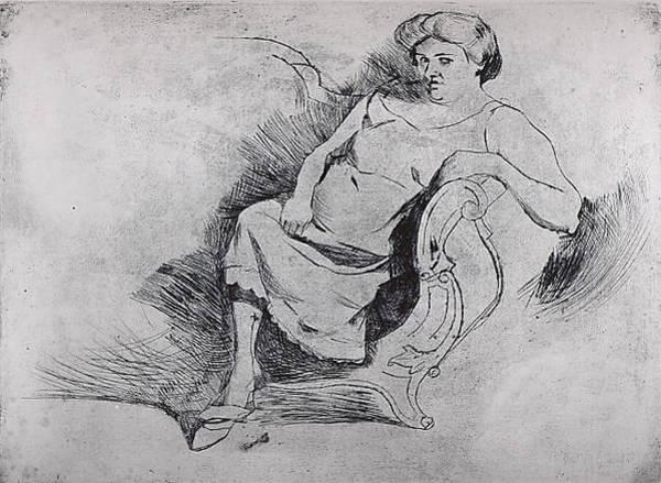Boccioni Wall Art - Drawing - Gisella by Umberto Boccioni