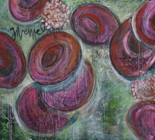 Painting - Give Me Love Rbc by Laurie Maves ART