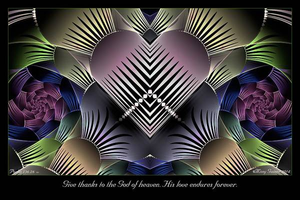 Digital Art - Give Thanks by Missy Gainer
