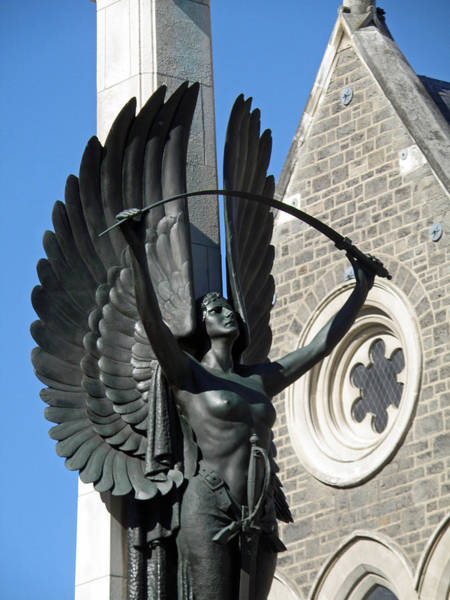 Angel Of Peace Photograph - Give Us Peace In Our Time by Jean Hall