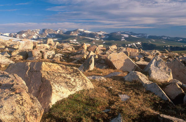 Glacial Erratic Photograph - Glacial Erratics, Wyoming by James Steinberg