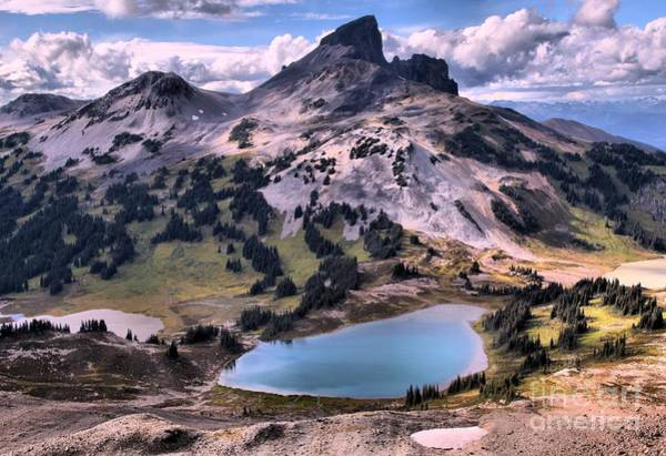 Photograph - Glacial Lakes Below The Tusk by Adam Jewell