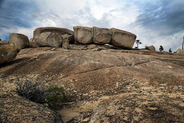 Bald Rock Dome Photograph - Glacial Monolith by Frank Wilson