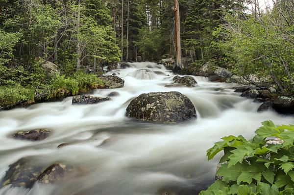 Photograph - Glacier Creek by Lee Kirchhevel