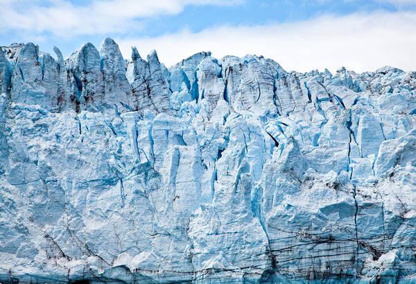 Photograph - Glacier Face - Photography By Jo Ann Tomaselli by Jo Ann Tomaselli