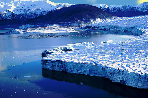 Wall Art - Photograph - Glacier by Frank Savarese