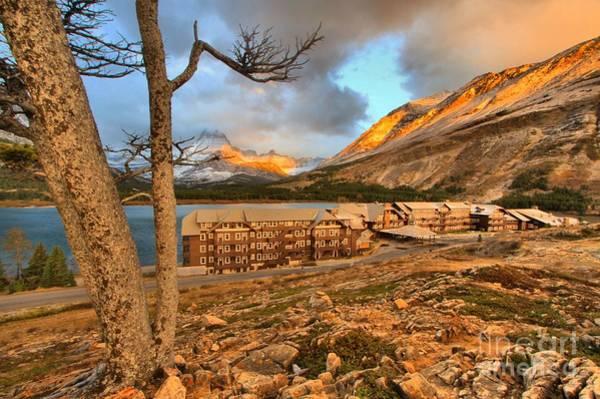 Photograph - Glacier Glow by Adam Jewell