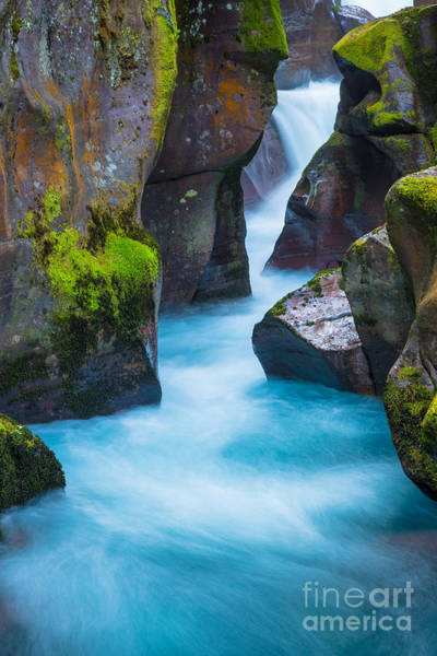 Photograph - Glacier Gorge by Inge Johnsson