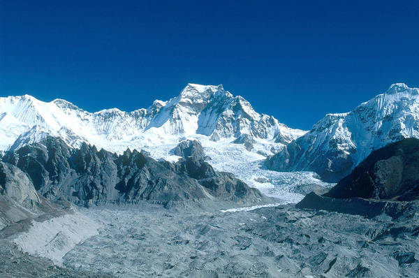 Wall Art - Photograph - Glacier In The Himalayas by Alison Wright