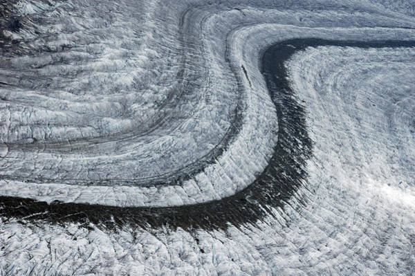 Photograph - Glacier Moraine - Lots Of Ice by Matthias Hauser