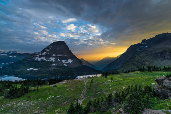 National Wall Art - Photograph - Glacier National Park 3 by Larry Marshall