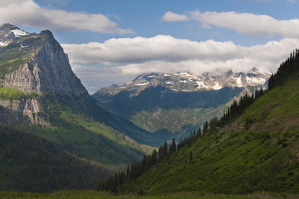 Photograph - Glacier National Park by John Shaw