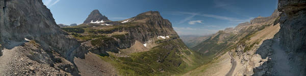 Photograph - Glacier National Park Panorama by Sebastian Musial
