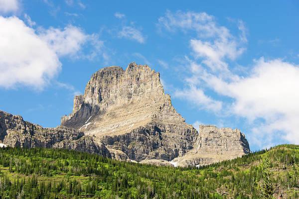 Continental Divide Photograph - Glacier National Park by Trish Drury