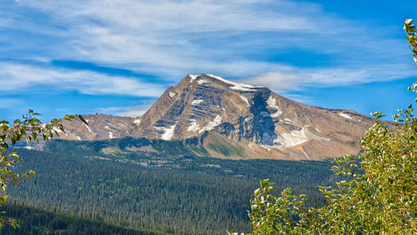 Photograph - Glacier National Park Vista by John M Bailey