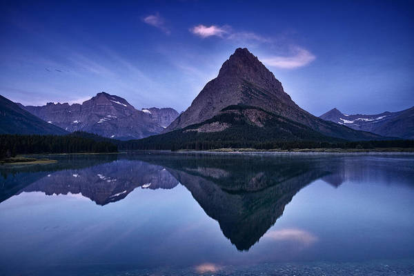 Wall Art - Photograph - Glacier Park Reflection by Andrew Soundarajan