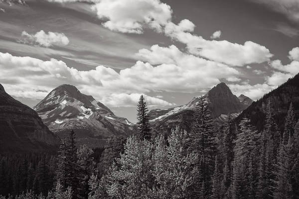 Photograph - Glacier Peaks by John M Bailey