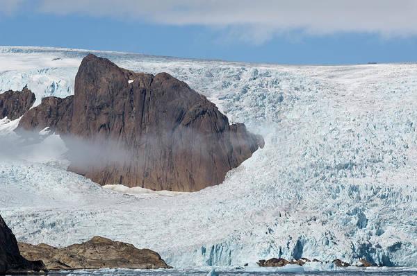 Conserved Photograph - Glacier, Prince Christian Sound by Daisy Gilardini