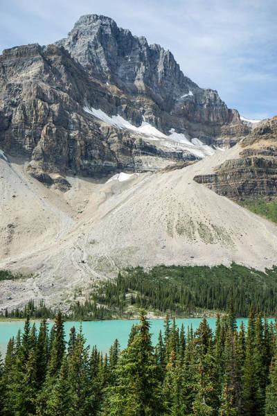 Spillway Photograph - Glacier Spillway Alberta Canada by Douglas Barnett