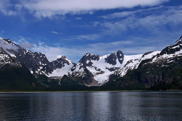 Gulf Of Alaska Photograph - Glacier View by Aimee L Maher ALM GALLERY