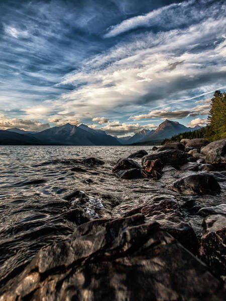 Wall Art - Photograph - Glacier Whispers by Aaron Aldrich