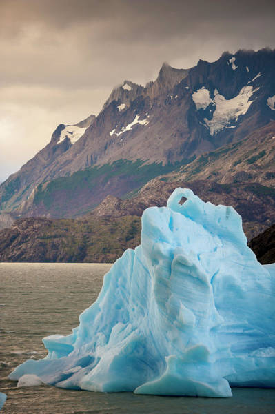 Antartica Wall Art - Photograph - Glaciers And Mountain Range In Torres by Edwin Remsberg
