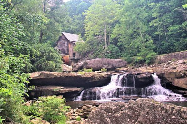 Photograph - Glade Creek Grist Mill by Gordon Elwell