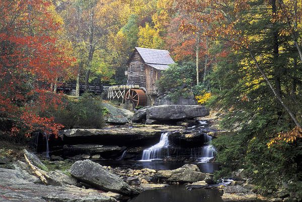 Photograph - Glade Creek Mill 01 by Jim Dollar