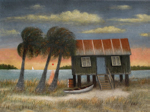 Everglades Painting - Glades Dweller by Gordon Beck