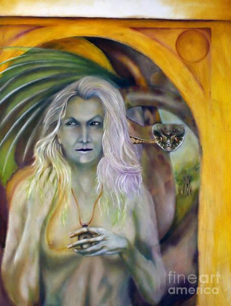 Painting - Glain Nadredd by Roger Williamson