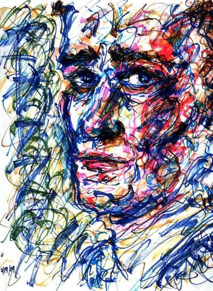 Drawing - Glance by Rachel Scott