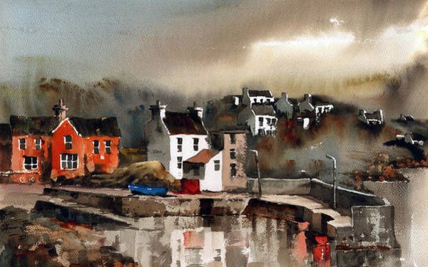 Painting - Glandore Harbour Cork by Val Byrne