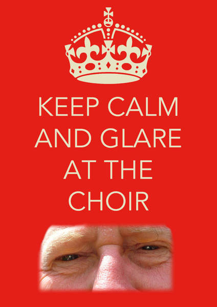Photograph - Glare At The Choir by Jenny Setchell