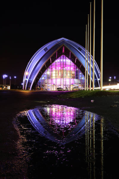 Photograph - Glasgow Clyde Armadillo by Grant Glendinning
