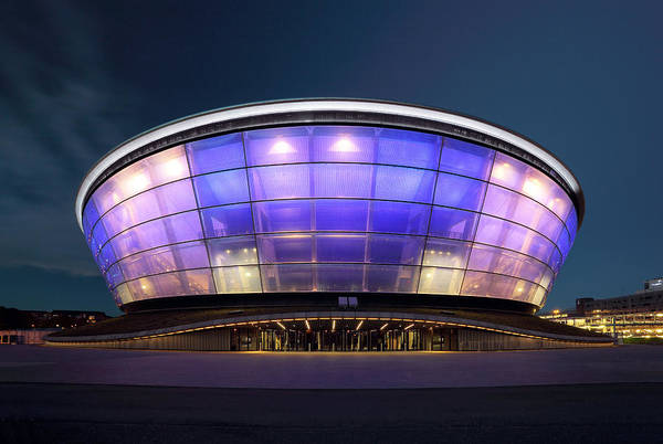 Photograph - Glasgow Hydro Arena by Grant Glendinning