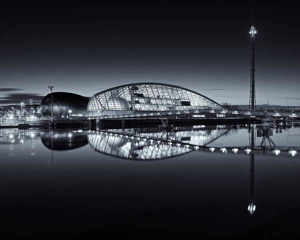Photograph - Glasgow Science Centre by Stephen Taylor