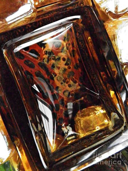 Light Box Photograph - Glass Abstract 326 by Sarah Loft