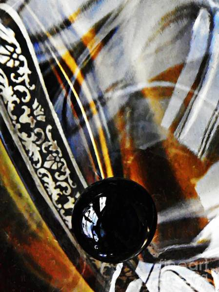 Light Box Photograph - Glass Abstract 367 by Sarah Loft