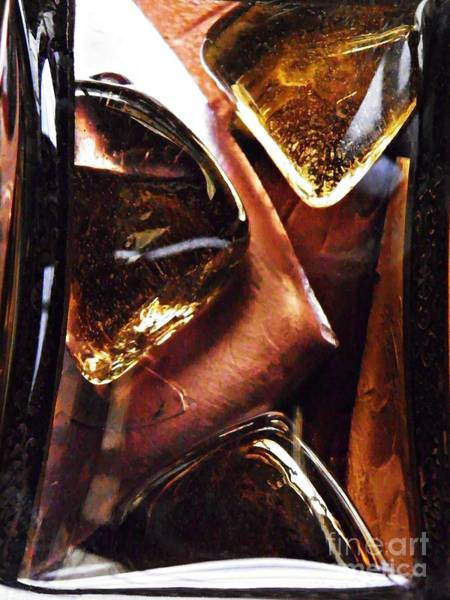 Light Box Photograph - Glass Abstract 463 by Sarah Loft
