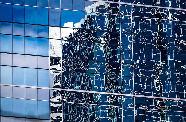 Photograph - Glass Abstract by Levin Rodriguez