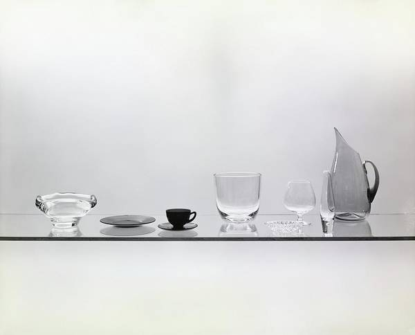 Plate Photograph - Glass Appetizer Bowl by Haanel Cassidy
