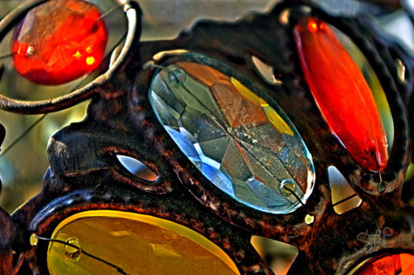 Photograph - Glass Colors by Sharon Popek