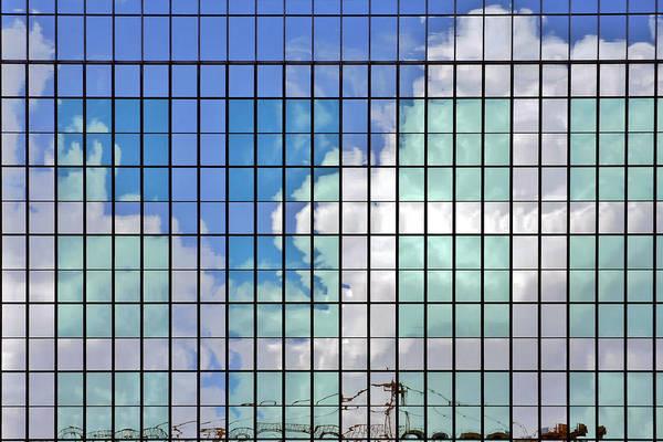 Photograph - Glass Facade Houston Tx by Christine Till