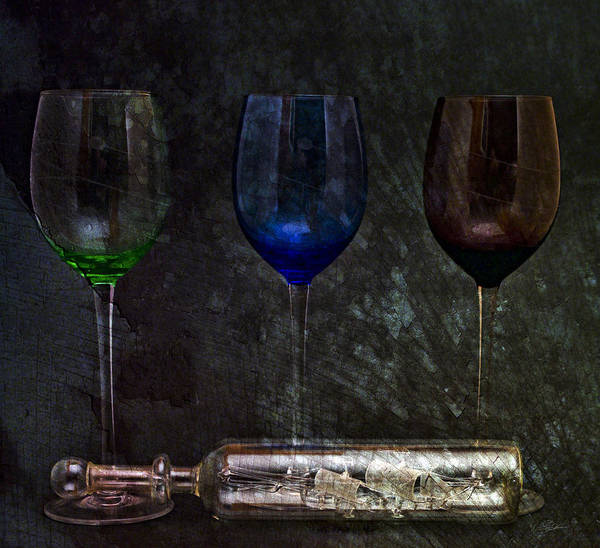 Still Life Digital Art - Glass Managerie 2 by Peter Chilelli