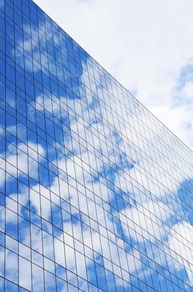 Photograph - Glass Modern Building by Bluehill75
