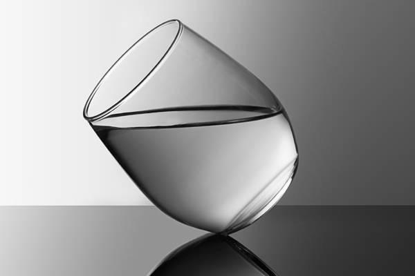 Liquid Wall Art - Photograph - Glass by Naoki Matsumura